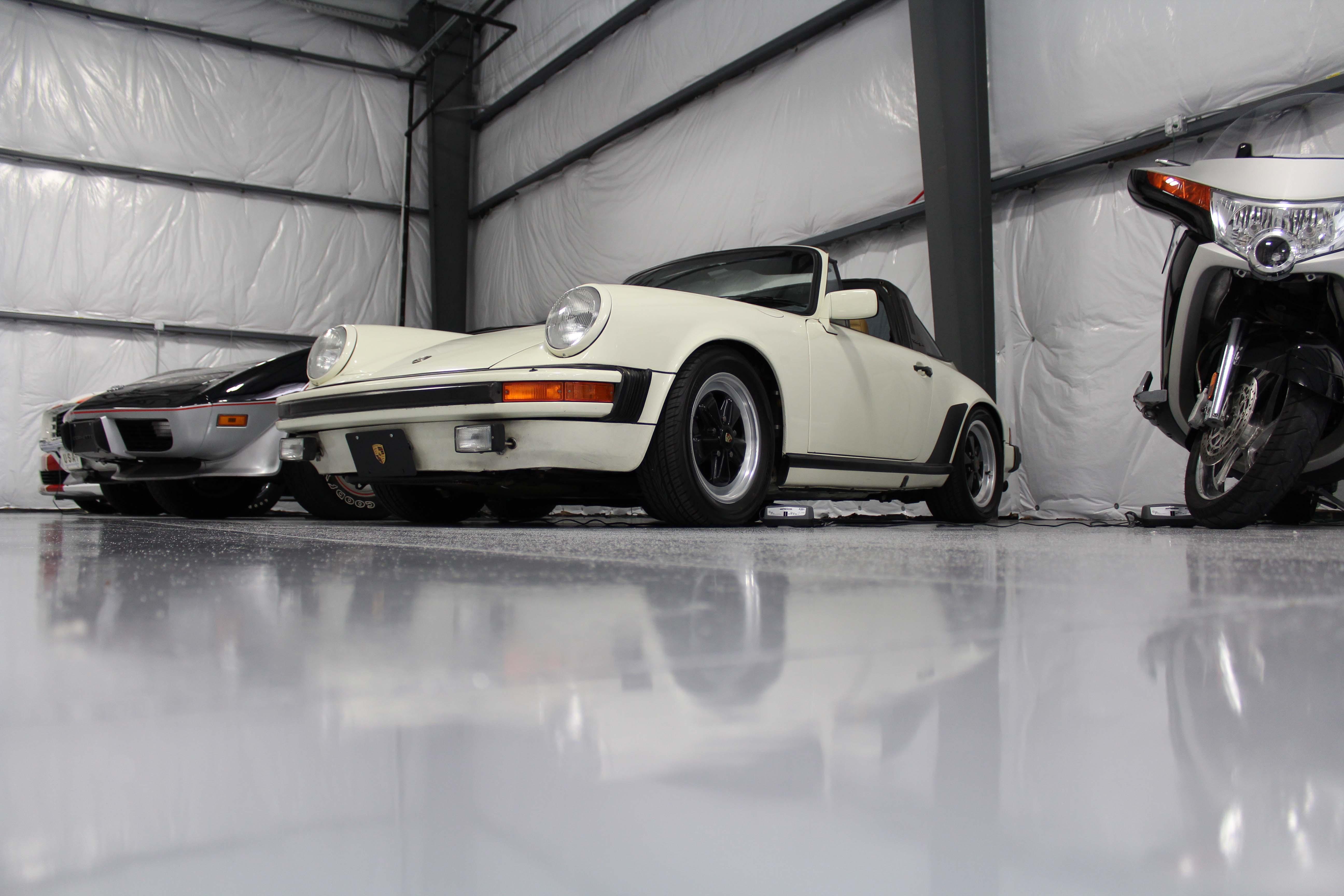 Floor Angle of Porsche